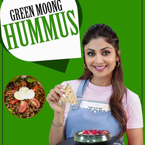 Recipe by Shilpa Shetty: How to make hummus, perfect for vegetarians, recipe by shilpa shetty: how to make hummus,  perfect for vegetarians,  shilpa shetty hummus recipe,  how to make moong dal hummus dip,  shilpa shetty special recipes,  shilpa shetty kitchen,  hummus recipe,  recipe,  healthy recipe