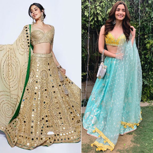 10 Lehenga Cholis trends of 2019 to rule your Dandiya Nights, navratri special,  10 lehenga cholis trends of 2019 to rule your dandiya nights,  dandiya dress 2019,  lehenga cholisfor dandiya nights,  fashionable lehengas for endless garba nights,  navratri dandiya lehenga choli designs,  fashion trends 2019,  ifairer