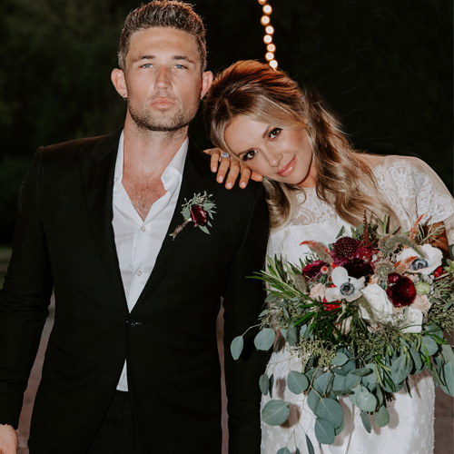 Michael Ray tied the knot with Carly Pearce, michael ray tied the knot with carly pearce,  michael ray and carly pearce get married,  michael ray,  carly pearce,  hollywood news,  hollywood gossip,  ifairer