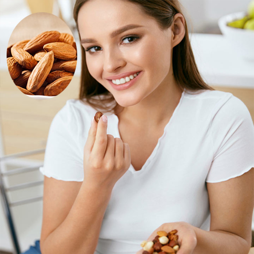 Study: Eating almonds daily keep your skin wrinkle-free, study,  eating almonds daily keep your skin wrinkle-free,  eating almonds daily may help reduce facial wrinkles,  almond,  facial wrinkles,  women,  ifairer