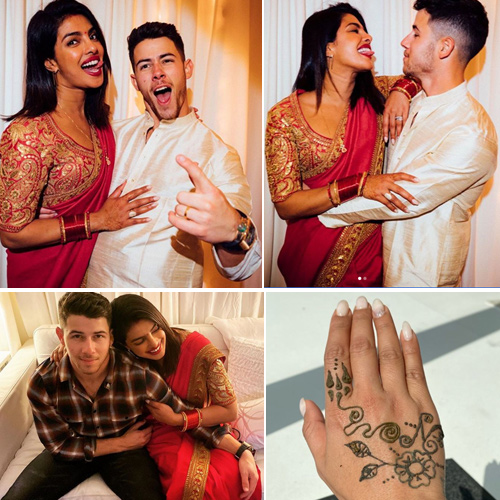 Priyanka Chopra goes desi for Karwa Chauth in Los Angeles with hubby, karwa chauth special,  priyanka chopra goes all desi for karwa chauth in los angeles with hubby nick jonas,  priyanka chopra,  karwa chauth,  nick jonas,  los angeles,  hollywood news,  hollywood gossip,  ifairer