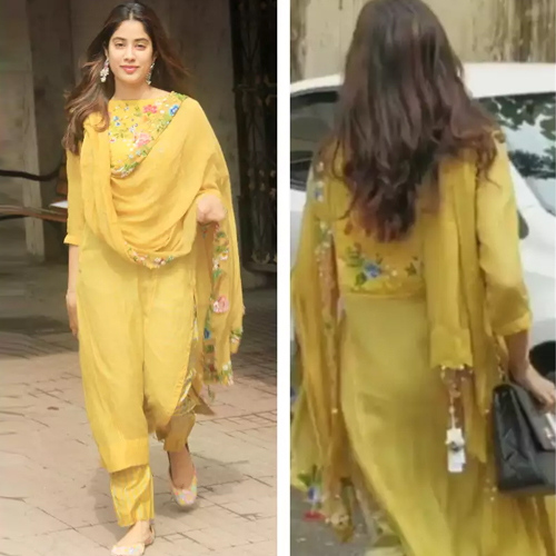 Janhvi Kapoor trolled for forget to remove price tag from her dupatta