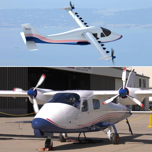 NASA unveils first Electric Experimental Aircraft X-57 Maxwell, nasa unveils first electric experimental aircraft x-57 maxwell,  nasa,  first electric experimental aircraft,  x-57 maxwell,  ne invention,  technology
