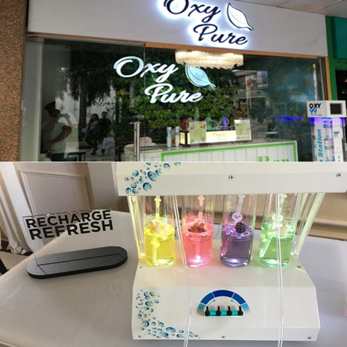 A new bar in Saket is offering pure oxygen, visit once, a new bar in saket is offering pure oxygen,  visit once,  saket,  delhi,  pollution,  oxy pure,  bar,