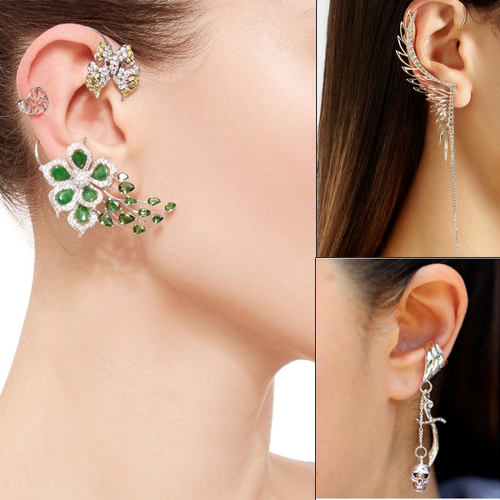 5 Tips to wear ear cuff like a pro, 5 tips to wear ear cuff like a pro,   ear rings,  earcuffs,  celebrity fashion trend,  how to pull off that ear cuff trend,  ear cuff trend 2019,  fashion trends 2019,  ifairer