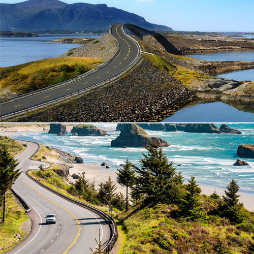 7 World's most exhilarating road trips