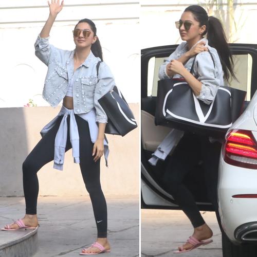 Kiara Advani leaves fans shocked by pairing Rs 2 lakh bag with Rs 200 Kolhapuris