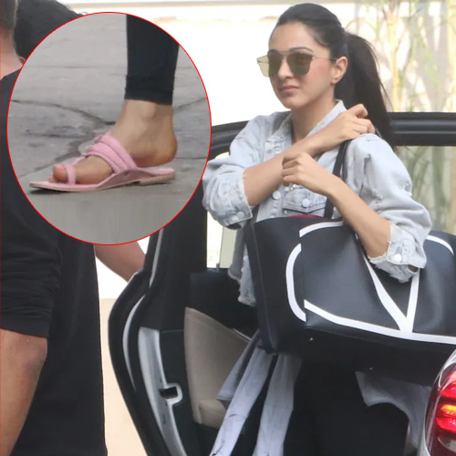 Kiara Advani leaves fans shocked by pairing Rs 2 lakh bag with Rs 200 Kolhapuris, kiara advani leaves fans shocked by pairing rs 2 lakh bag with rs 200 kolhapuris,  kiara advani,  valentino bag,  fashion trends 2019,  latest fashion,  ifairer