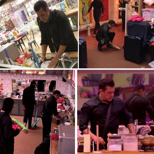 OMG! Salman Khan washes dirty utensils and cleans washroom in Bigg Boss 13 house, salman khan washes dirty utensils and cleans washroom in bigg boss 13 house,  salman khan,  bigg boss 13,  update,  tv gossips,  tv serial news