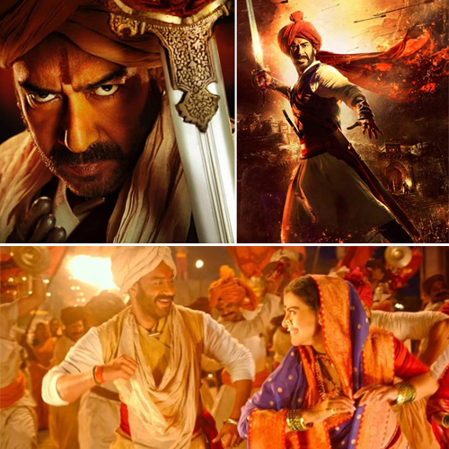 Tanhaji becomes Ajay Devgn's 5th film to enter in the Rs 100 crore club