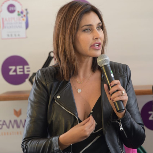 JLF 2020: Lisa Ray now writer after modeling and acting , jlf 2020,  lisa ray now writer after modeling and acting,  lisa ray at jlf 2020,  jaipur literature festival,  jaipur literature festival 2020,  jlf,  lisa ray,  bollywood news,  bollywood gossip,  ifairer