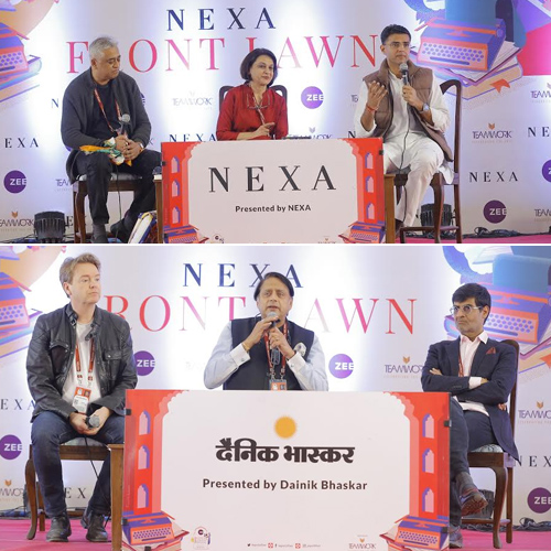 JLF 2020 featured stalwarts across literature, art, cinema and science, jlf 2020 featured stalwarts across literature,  art,  cinema and science,  jlf 2020,  zee jaipur literature festival,  jaipur literature festival 2020,  ifairer