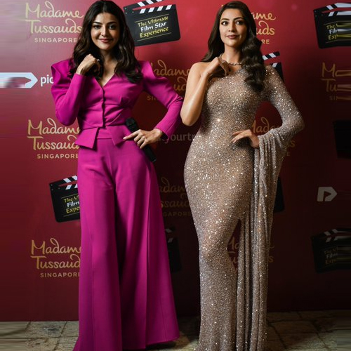Kajal Aggarwal becomes 1st South Indian actress to get wax statue at Madame Tussauds, kajal aggarwal becomes 1st south indian actress to get wax statue at madame tussauds,  kajal aggarwal,  south indian actress,  wax statue,  madame tussauds,  singapore,  bollywood news,  bollywood gossip,  ifairer