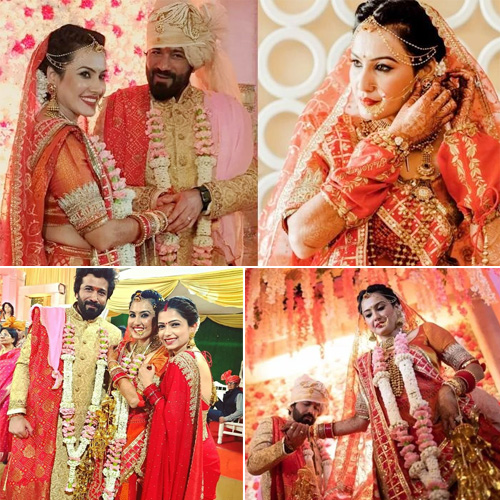 Kamya Panjabi's dreamy wedding ceremony in 7 pics, kamya panjabi dreamy wedding ceremony in 7 pics,  kamya panjabi wedding,  kamya panjabi and shalabh dang fairy-tale wedding,  unseen pictures from kamya panjabi wedding,  tv gossips,  tv serial news,  ifairer
