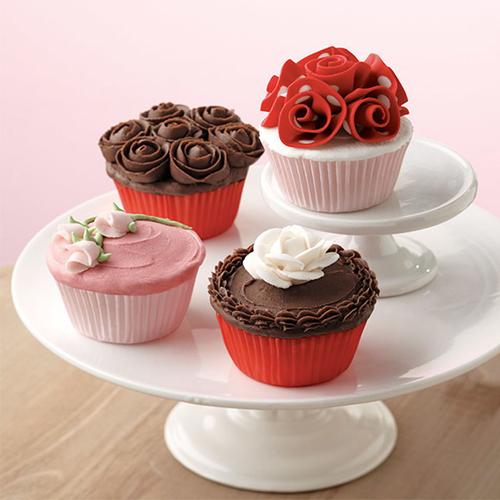 Valentine Day special recipe: Rose petal cupcake