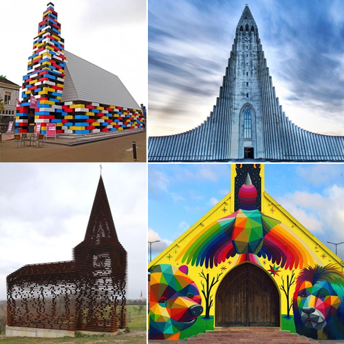 20 World's most bizarre looking churches, 20 world most bizarre looking churches,  the quirkiest churches in the world,  unconventional churches from around the world,  world most unusual churches,  world most strangest churches,  destinations,  travel,  ifairer