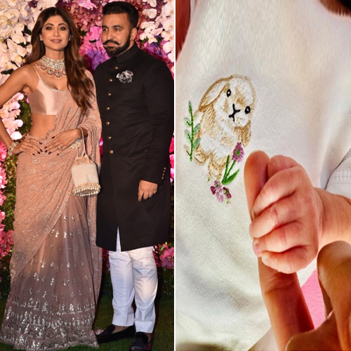 Shilpa Shetty and Raj Kundra blessed with a baby girl, named Samisha