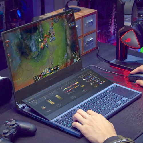 Asus unveiled dual-screen ROG Zephyrus Duo 15 gaming laptop with 7 more unique features, asus unveiled dual-screen rog zephyrus duo 15 gaming laptop with 7 more unique features,  asus dual-screen rog zephyrus duo 15 laptop,  price,  features,  specifications,  technology