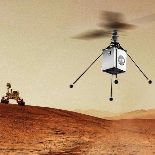 IIT alumnus creates chopper that will fly over Mars, iit alumnus creates chopper that will fly over mars,  new invention,  new technology,  iit alumnus,  mars,  indian institute of technology,  bob balaram,  ifairer