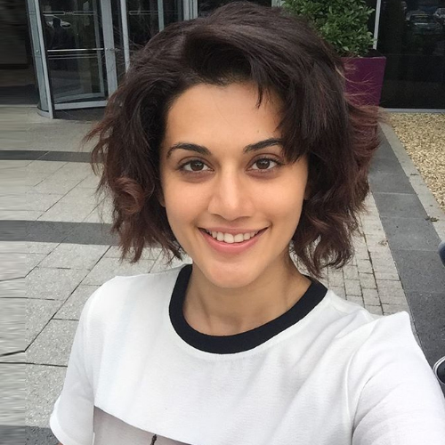 OMG! Taapsee Pannu chops off her hair, taapsee pannu chops off her hair after colour experiment goes completely wrong,  taapsee pannu,  coronavirus,  coronavirus news,  coronavirus update,  bollywood news,  bollywood gossip,  ifairer