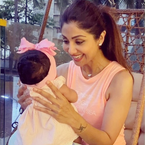 Shilpa Shetty thinks the number 15 is lucky for her, know why, shilpa shetty thinks the number 15 is lucky for her,  know why,  shilpa shetty,  shilpa shetty daughter,  samisha,  bollywood news,  bollywood gossip,  ifairer