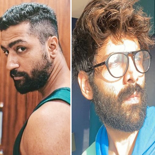 Dealing with lockdown: Vicky Kaushal flaunts new haircut and Kartik Aaryan's beard dilemma, dealing with lockdown,  vicky kaushal flaunts new haircut and kartik aaryan beard dilemma,  vicky kaushal,  kartik aaryan,  bollywood news,  bollywood celebs,  ifairer