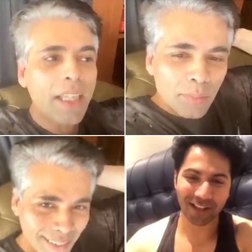 Karan Johar flaunts his grey hair amid lockdown, karan johar flaunts his grey hair amid lockdown,  karan johar,  lockdown,  