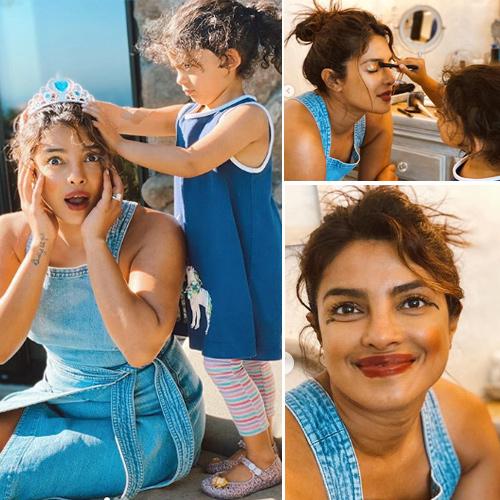 Priyanka Chopra finds her new makeup artist, gets a princess makeover, priyanka chopra finds her new makeup artist,  gets a princess makeover,  priyanka chopra,  make up tips,  bollywood news,  hollywood news,  lockdown,  covid-19,  coronavirus,  ifairer