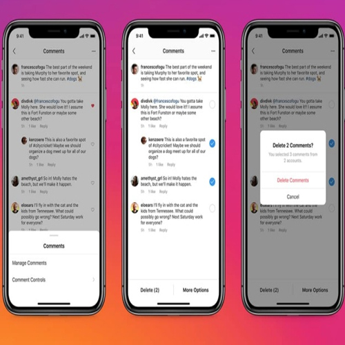Instagram now lets you delete comments and block users in bulk, instagram now lets you delete comments and block users in bulk,  instagram,  instagram new feature,  instagram update,  technology