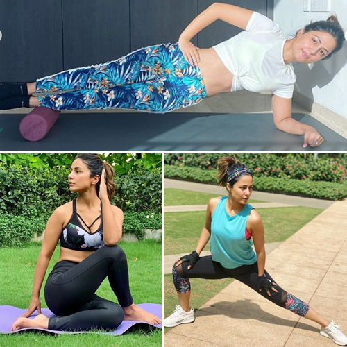 Hina Khan Ramadan workout during fasting