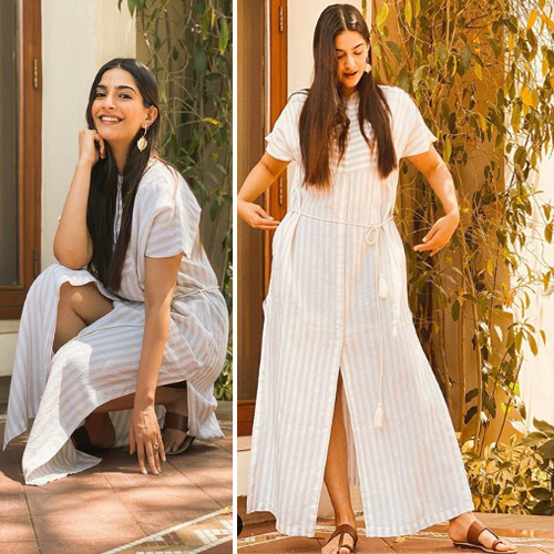 Lockdown diaries: Sonam Kapoor sets new summer fashion goals in Bhaane dress