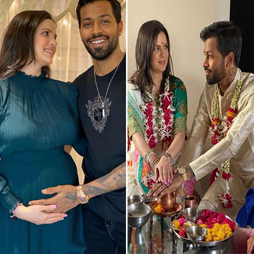 Hardik Pandya announces marriage and pregnancy with Natasa Stankovi, see in 7 pics , hardik pandya announces marriage and pregnancy with natasa stankovi,  see in 7 pics,  natasa stankovic and hardik pandya are expecting their first child,  hardik pandya,  natasa stankovi,  lockdown,  bollywood news,  bollywood gossip,  ifairer