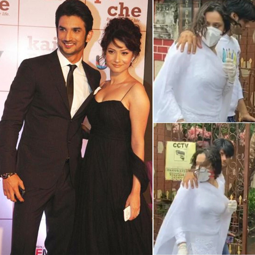 Ankita Lokhande visits Sushant Singh Rajput`s family at his home, to be questioned by police, ankita lokhande visits sushant singh rajput family at his home,  to be questioned by police,  ankita lokhande,  sushant singh rajput,  death,  tv gossips,  bollywood,  ifairer