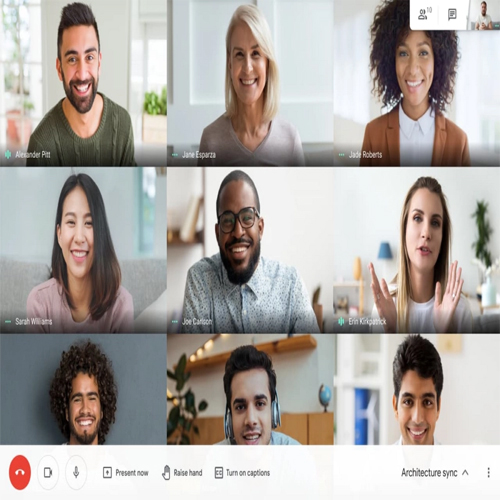 Google Meet video calls now allow you to view up to 49 participants on a single screen, google meet video calls now allow you to view up to 49 participants on a single screen,  google meet,  google meet new features,  google meet update,  video calls,  technology,  ifairer