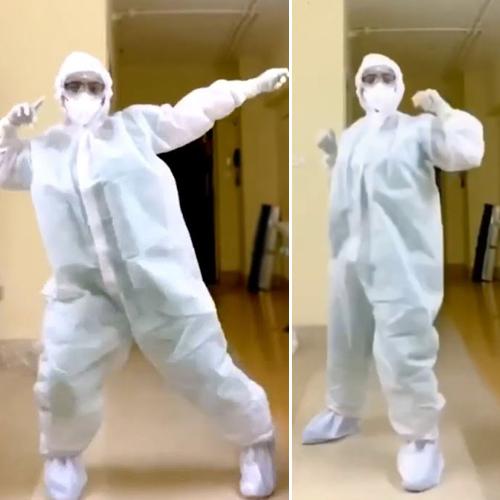 Viral video: Wearing PPE kit, a Mumbai doctor dance in Garmi song like a pro