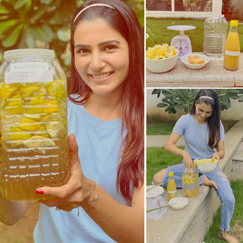 Samantha Akkineni makes chemical-free cleaner at home, know the recipe, samantha akkineni makes chemical-free cleaner at home,  know the recipe,  samantha akkineni,  chemical-free cleaner,  how to make chemical-free cleaner,  home cleaner,  decor tips,  ifairer