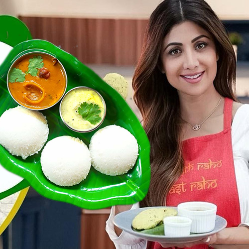 Recipe: Shilpa Shetty share healthy version of idli for breakfast