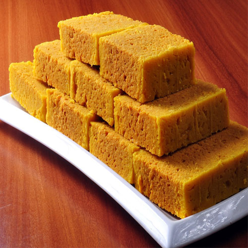 Make soft and yummy mysore pak at home with just 3 ingredients