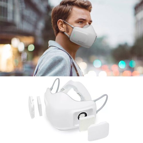 LG launches battery powered air purifier mask, know the benefits, lg launches battery powered air purifier mask,  know the benefits,  lg,  electronic mask,  battery powered air purifier mask,  air purifier mask,  new technology,  new invention,  ifairer