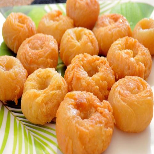 Makhan Bada Recipe, makhan bada recipe,  how to make makhan bada,  badhusha recipe,  makhan bada recipe,  sweets recipe,  recipe,  ifairer