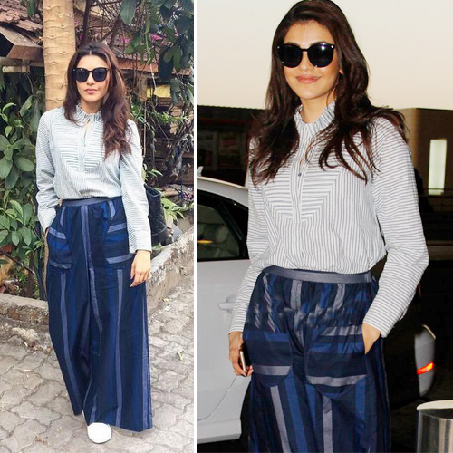 7 Style cues from Kajal Aggarwal to amp up your fashion game, 7 style cues from kajal aggarwal to amp up your fashion game,  kajal aggarwal rules of style,  kajal aggarwal shows off her cool girl style with this outfit,  kajal aggarwal shows off unique fashion statements,   kajal aggarwal,  stylish outfits,  fashion tips,  ifairer