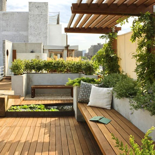 5 Ways to setup a terrace garden at home