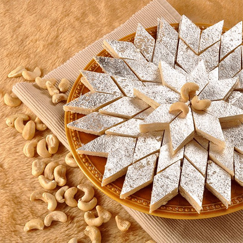 Make cashew burfi this festive season