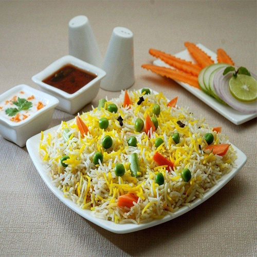 Hyderabadi Veg Dum Biryani Recipe