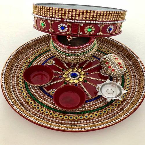 4 Easy ways to decorate Karwa Chauth pooja thali, 4 easy ways to decorate karwa chauth pooja thali,  karwa chauth thali decoration,  karva chauth,  thali decoration ideas,  thali decoration tips for karwa chauth,  karwa chauth special,  ifairer