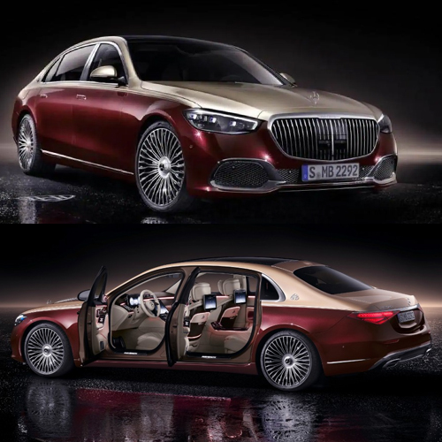 2021 Mercedes-Maybach S-Class unveiled with 7 specification