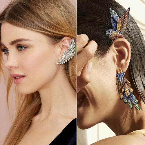 Ear Cuffs that are in trend right now, ear cuffs that are in trend right now,  ear rings,  earcuffs,  celebrity fashion trend,   how to pull off that ear cuff trend,  ear cuff trend 2020,  tips to wear ear cuff,  fashion accessories,  ifairer