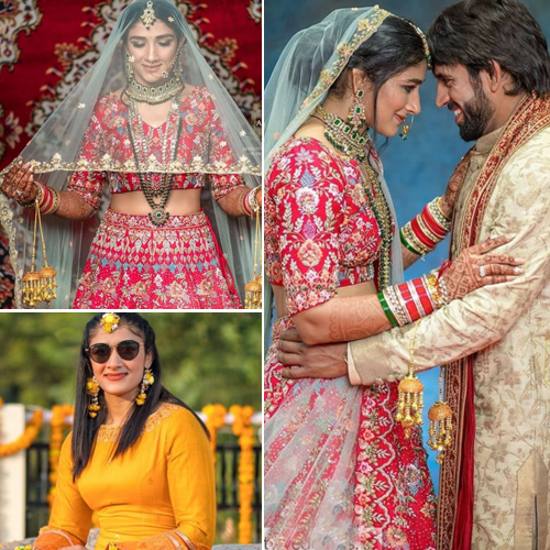 Wrestling couple Sangeeta Phogat and Bajrang Punia tie the knot, see wedding album, wrestling couple sangeeta phogat and bajrang punia tie the knot,  see wedding album,  wrestler,  sangeeta phogat,  bajrang punia,  ifairer