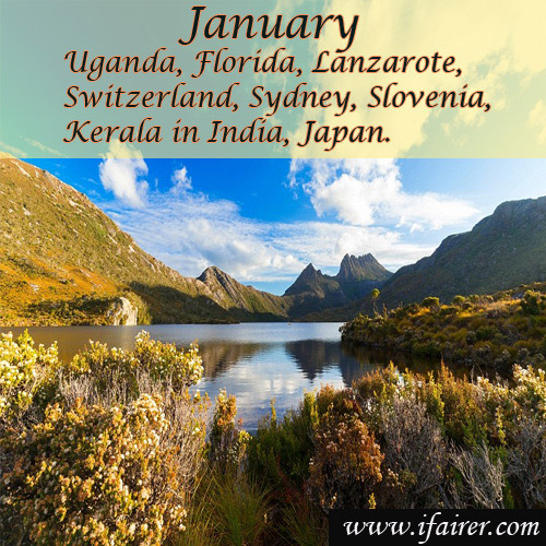 Best destinations for every month of the year, best destinations for every month of the year,  month by month guide,  best places to go for every month,  the best travel destinations,  the best places to visit each month of the year,  destinations,  travel,  ifairer