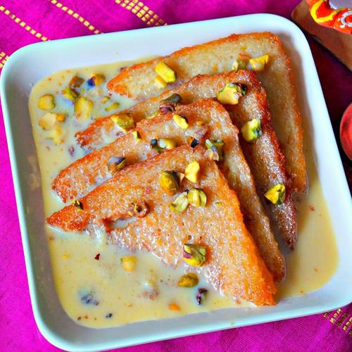 Hyderabadi Double Ka Meetha Recipe, hyderabadi double ka meetha recipe,  shahi tukda recipe,  how to make shahi tukda,  recipe  how to make hyderabadi double ka meetha ,  ifairer